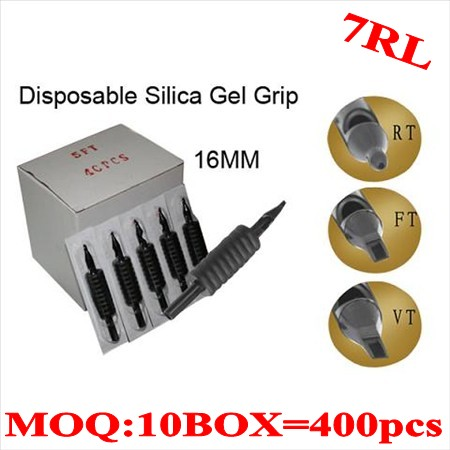 400pcs 7RL  Disposable grips without needles 16MM