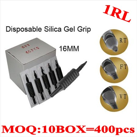 400pcs 1RL  Disposable grips without needles 16MM