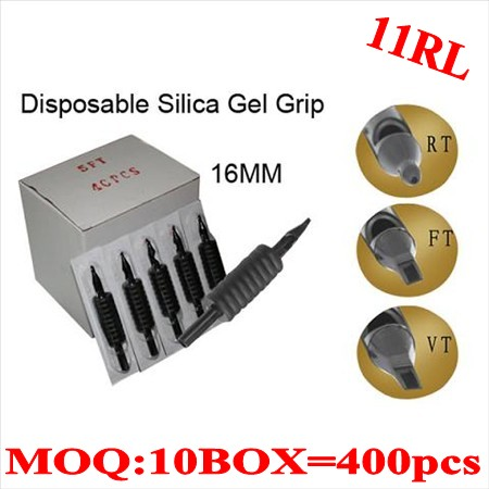 400pcs 11RL  Disposable grips without needles 16MM