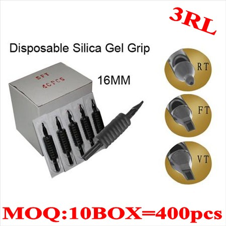 400pcs 3RL  Disposable grips without needles 16MM