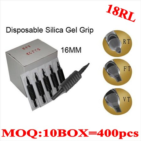 400pcs 18RL  Disposable grips without needles 16MM