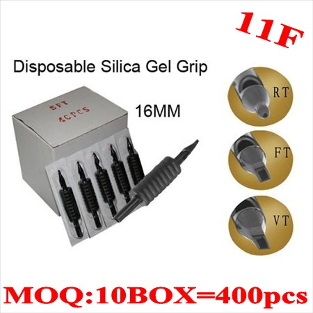 400pcs 11F  Disposable grips without needles 16MM