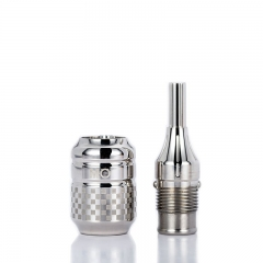 MO Stainless steel Adjustable Tattoo Cartridge Grip