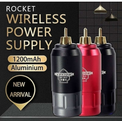 Rechargeable RCA Tattoo Battery Mini Rocket Wireless Tattoo Power Supply